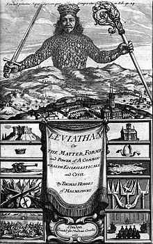 Hobbes Leviathan Frontispiz